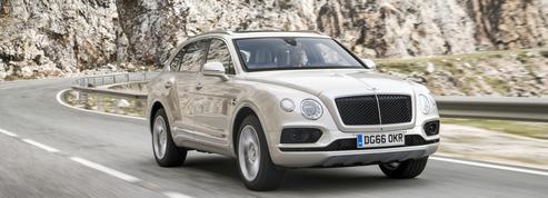 Bentley fait rouler le Bentayga au gazole