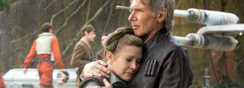 Carrie Fisher avait deux scènes capitales dans la suite de Star Wars