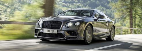 Bentley Continental Supersports, le coupé 4 places le plus rapide du monde