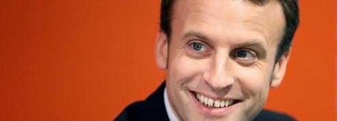 Emmanuel Macron, la coqueluche des médias