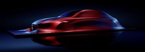 Mercedes : première maquette de la prochaine famille Classe A