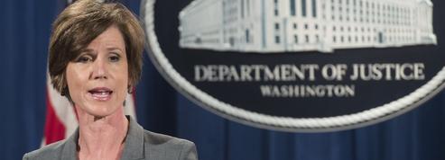 Donald Trump limoge la ministre de la Justice par intérim
