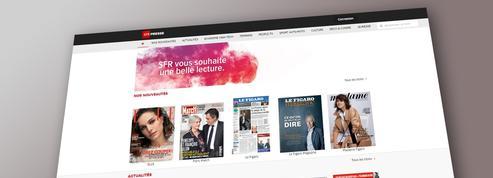 Le Figaro, Elle et Paris Match rejoignent SFR Presse