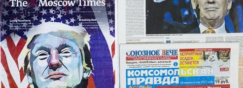 En Russie, Trump fait de l'ombre à Poutine