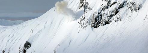 Une avalanche décortiquée par un scientifique