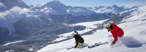 La glisse lumineuse de Saint-Moritz
