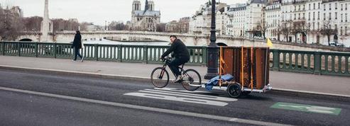 Boulangerie, plombier, bus scolaire : ils se mettent tous au vélo