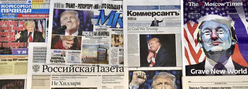 La société russe déboussolée par Donald Trump