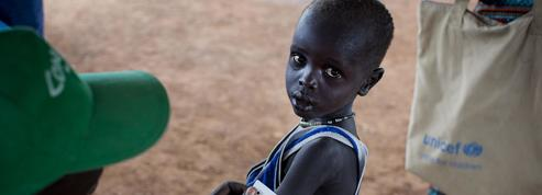 Près de 1,4 million d'enfants risquent de mourir de faim cette année