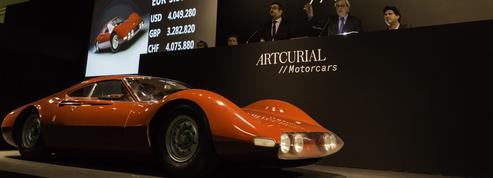 Ventes parisiennes, pour près de 80 millions d'euros de voitures de collection