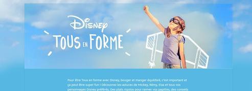 Disney veut faire bouger les enfants avec «Tous en forme»