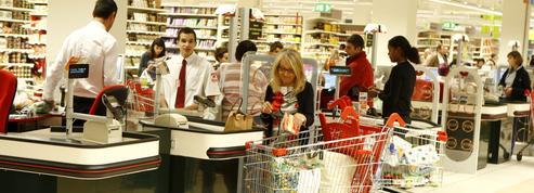 Dans quels rayons fait-on le plus ses courses en hypermarché ?