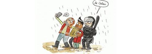 La jungle de Calais en BD : drôles de chroniques