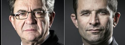 À gauche, Mélenchon et Hamon inquiètent les milieux économiques