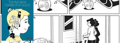 <i>Tombé dans l'oreille d'un sourd</i>: une BD poignante sur le quotidien d'un enfant sourd