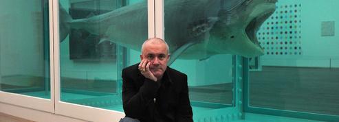 L'artiste Damien Hirst attaqué à Venise par des militants de la cause animale