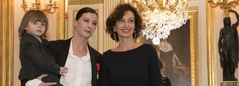Décorée de la légion d'honneur, l'étoile Marie-Agnès Gillot danse avec les mots