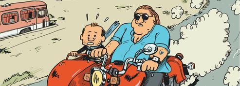 BD: Mathieu Sapin croque Gérard Depardieu à pleines dents