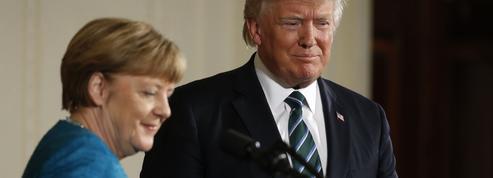 Merkel et Trump déminent la relation euro-américaine