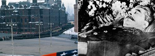 Obsèques de Staline: un film en couleur inédit pris par un soldat américain