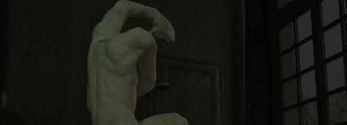 C'est beau, un Rodin la nuit!