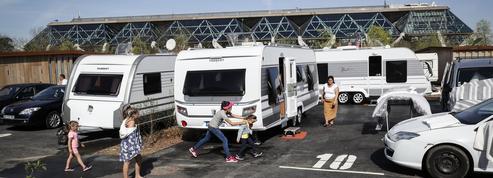 Bois de Vincennes: la première aire d'accueil pour les gens du voyage crée la zizanie