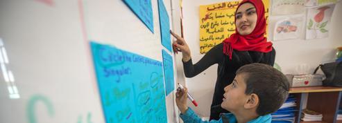Au Liban, à l'école des petits réfugiés syriens