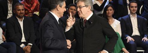 Un sondage donne Mélenchon à égalité avec Fillon au premier tour