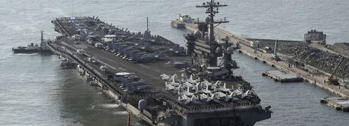 Donald Trump envoie un porte-avions vers la péninsule coréenne