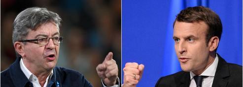 Macron attaque Mélenchon : «Il était sénateur, j'étais encore au collège»
