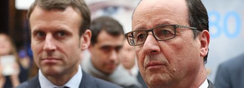Macron tient à garder ses distances avec Hollande
