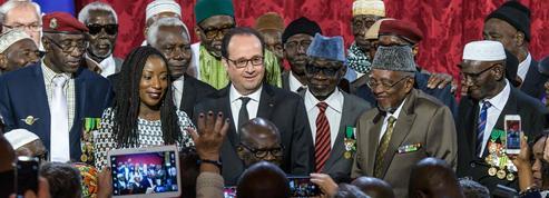 28 tirailleurs sénégalais naturalisés à l'Élysée