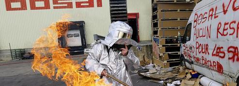 La faillite de Bosal, mi-2009, est bien liée à une grève trop dure