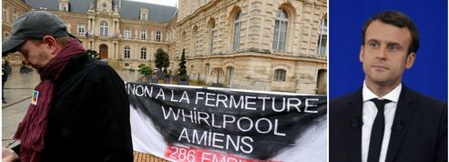 Whirlpool Amiens: Emmanuel Macron attendu de pied ferme