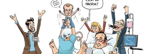 Le dessin d'Ixène : «Heureux événement au palais»