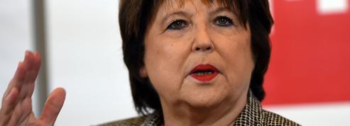 Aubry refuse d'appeler explicitement à voter pour Macron