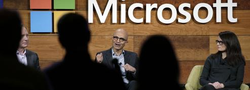 Microsoft réussit sa transition vers le cloud