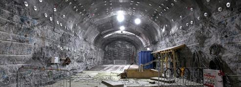 Dans le tunnel des déchets nucléaires en Finlande