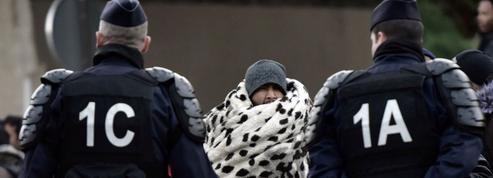 Plus de 1600 migrants évacués dans le nord de Paris