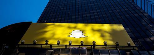 Snapchat chute en Bourse après des résultats décevants