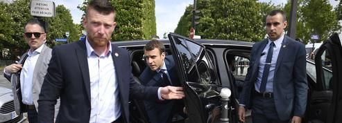 Comment la sécuritédu président Macron se prépare en coulisses