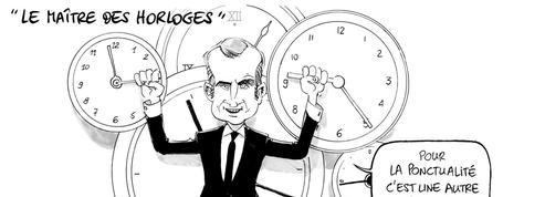 Le dessin d'Ixène : «Le maître des horloges»