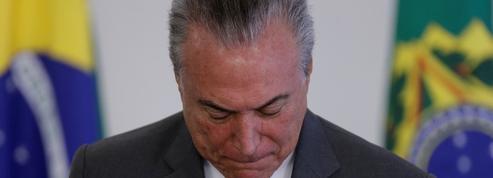 Le président du Brésil sur la sellette