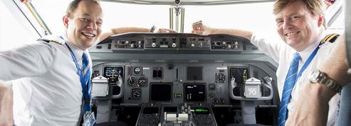 Le roi des Pays-Bas a une double vie... de pilote d'avion
