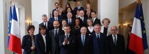 Le fil de la semaine où «le gouvernement de renouvellement» d'Emmanuel Macron est entré en action