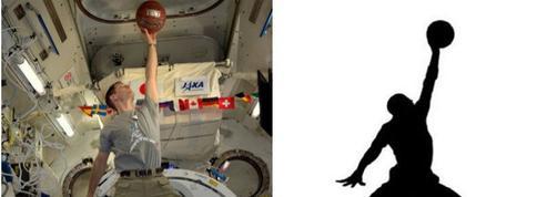 Thomas Pesquet se prend pour Michael Jordan dans l'espace