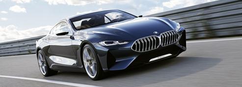 BMW Série 8 Concept, le retour du coupé de sport