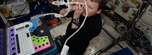 Un équipage restreint à bord de la Station spatiale internationale