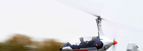 Un ingénieur tchèque invente un engin mi-hélicoptère mi-voiture