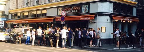 La Cave Drouot, grand café contemporain